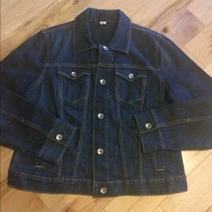 Gap stretch denim jacket size xl